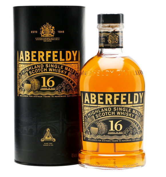 Aberfeldy Highland Single Malt Scotch Whisky 16 Year