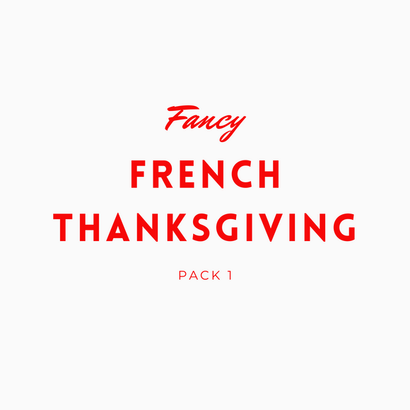 Fancy French Thanksgiving 1