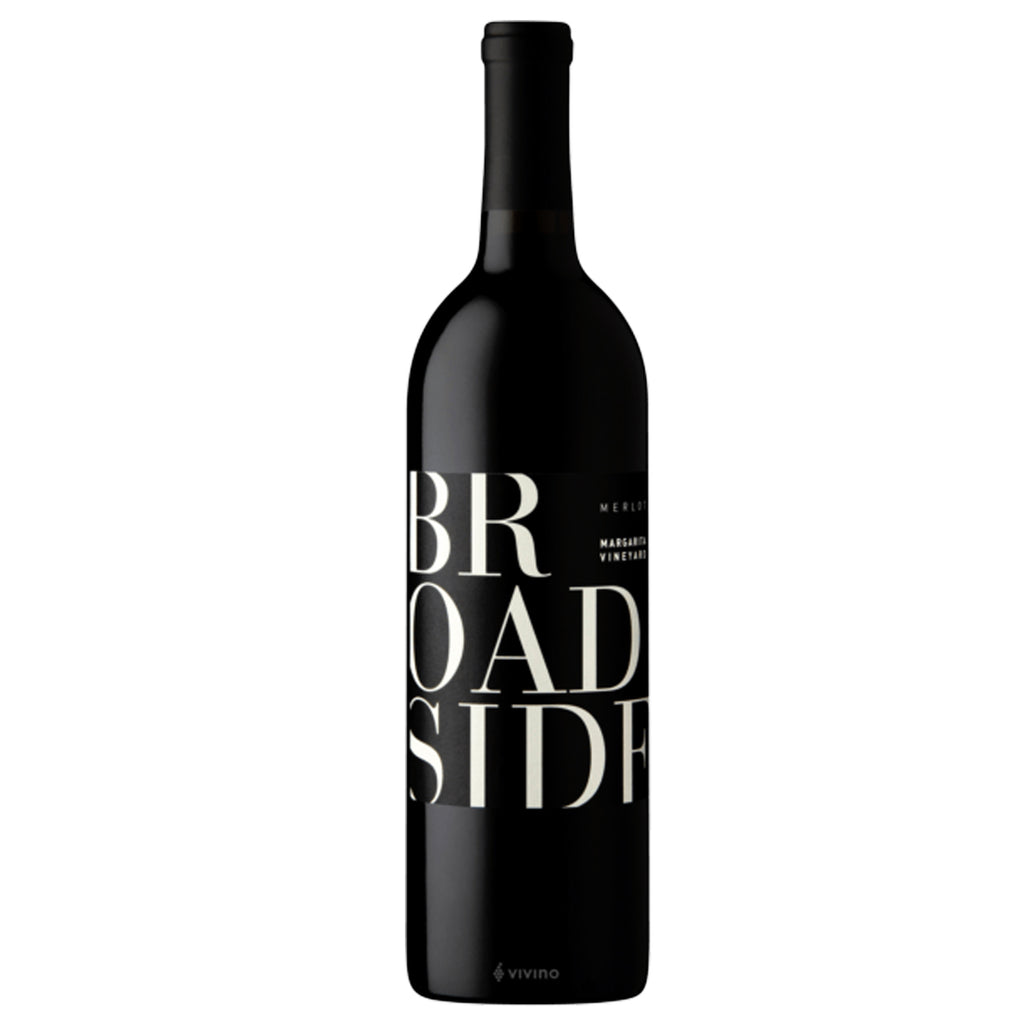 Broadside Broadside Vineyard Merlot 2018