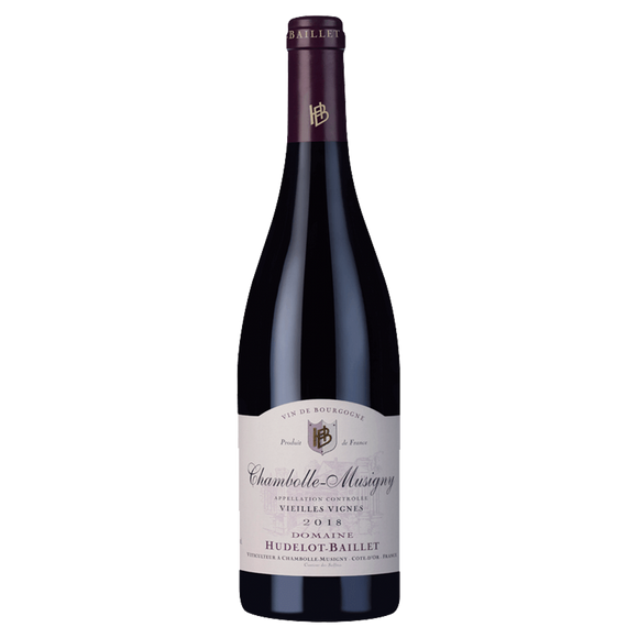Hudelot Baillet Chambolle Musigny Vieilles Vignes 2018