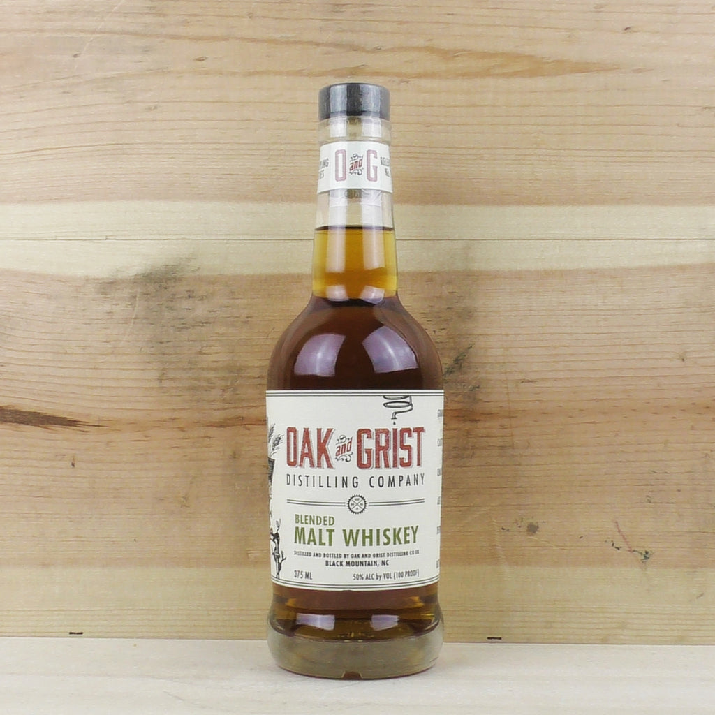 Half Oak and Grist Distilling Company Blended Malt Whiskey Batch 2