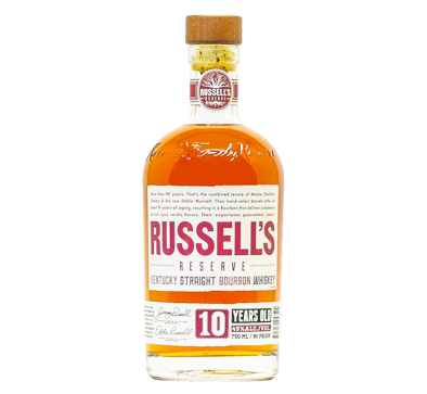 Russells Reserve Kentucky Straight  Bourbon Whiskey 10 Year