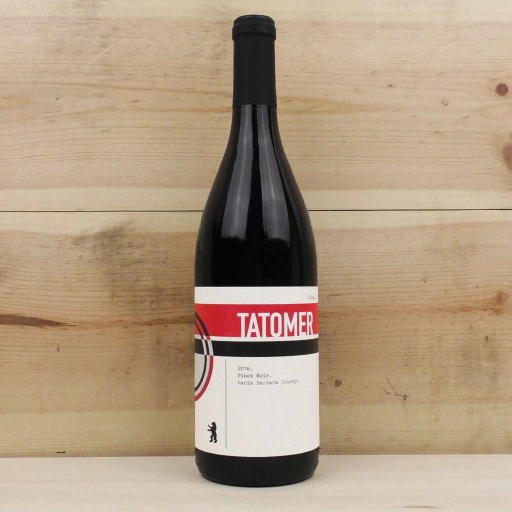 Tatomer Pinot Noir Santa Barbara County 2016