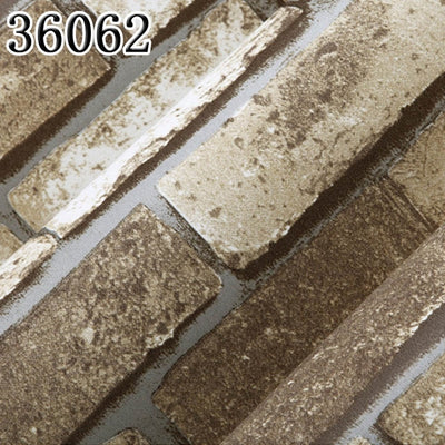 Vintage Brick 3D Wallpaper Decor