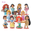 Set Disney Cartoon Princess Collection Figures Dolls Toys