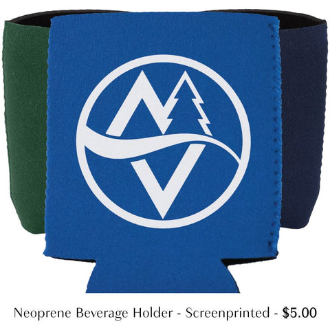 Screen Printed beverage holders