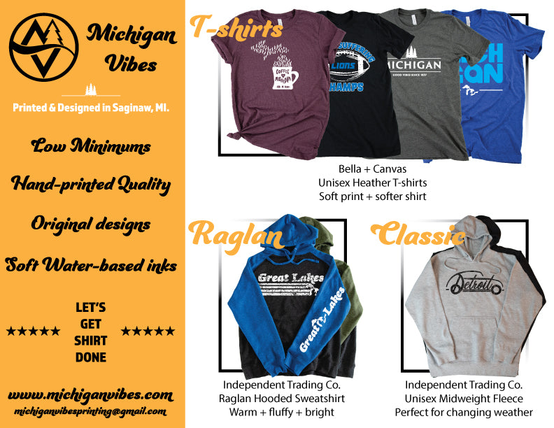 Michigan Vibes Wholesale Information
