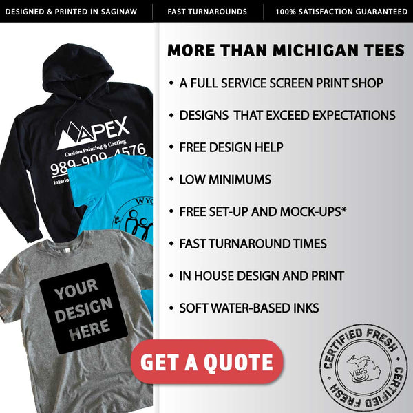 Screen Printing in Saginaw, MI