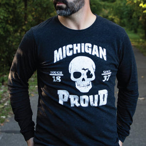 Michigan Proud long sleeve tee