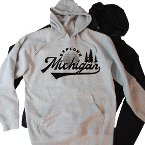 Adventure Midweight Hoodie - Michigan Vibes