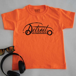 Classic Detroit Youth Tee - Michigan Vibes