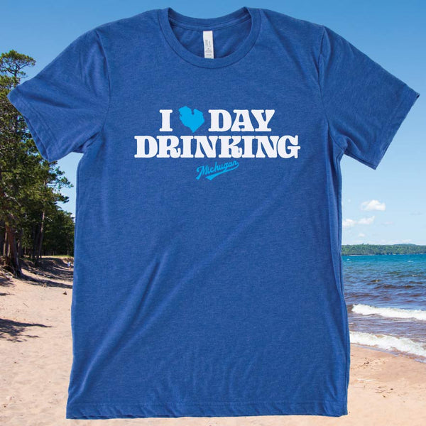 Day Drinking Tee - Michigan Vibes