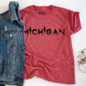 Discover Youth Tee - Michigan Vibes