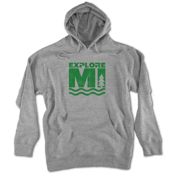 Explore More Midweight Hoodie - Michigan Vibes