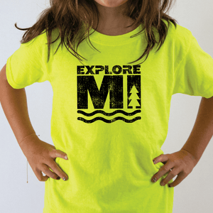 Explore More Youth Tee - Michigan Vibes