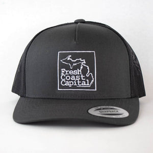 Fresh Coast Capital Retro Trucker Hat - Michigan Vibes