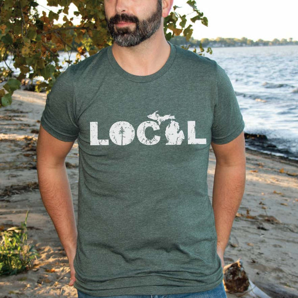 Local Tee - Michigan Vibes