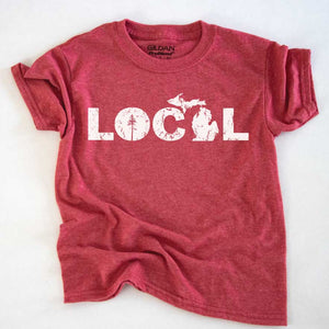 Local Youth Tee - Michigan Vibes
