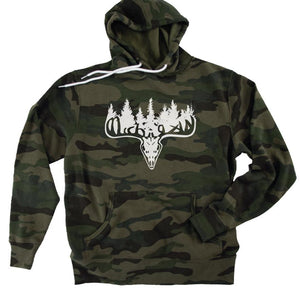 Michigan Buck Camo Hoodie - Michigan Vibes