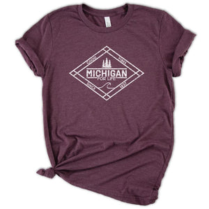 Michigan for Life Tee - Michigan Vibes