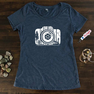 Picture Perfect Tri-blend Scoop neck tee - Michigan Vibes