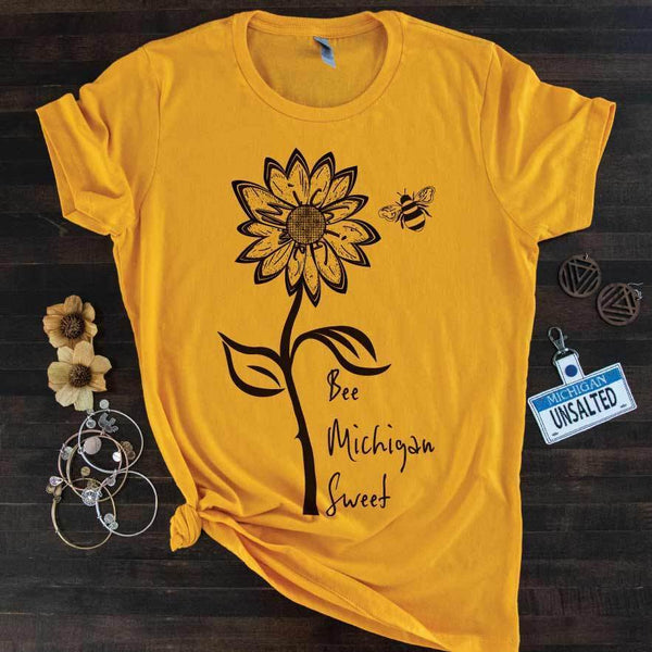 Sweet Michigan Tee - Michigan Vibes