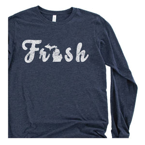 The Fresh long sleeve tee - Michigan Vibes
