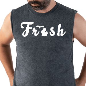 The Fresh Sleeveless Tee - Michigan Vibes