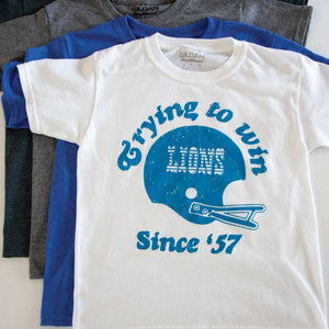 Trying Lions Youth Tee - Michigan Vibes