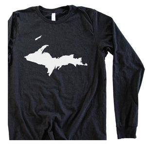 U.P. long sleeve tee - Michigan Vibes