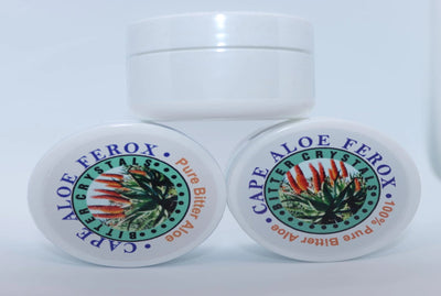 ALOE FEROX BITTER CRYSTALS, Constipation Relief, Natural Laxative, Colon Cleanser