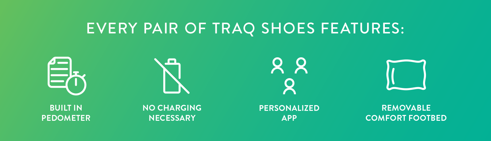 Features of Traq Shoes
