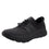Cynch Black lace up smart shoes with Q-chip™ technology. CYN-M7001_S1
