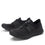 Cynch Black lace up smart shoes with Q-chip™ technology. CYN-M7001_S2