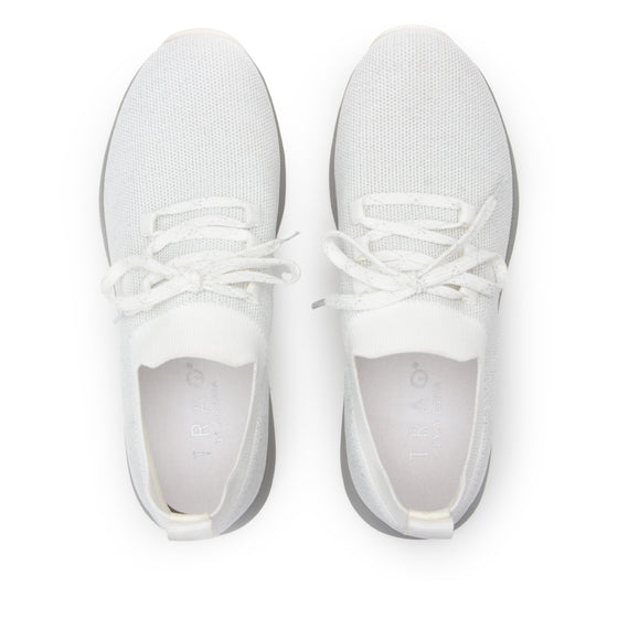 Froliq Zesty White smart shoes with Q-chip™ technology. FRO-5100-S5