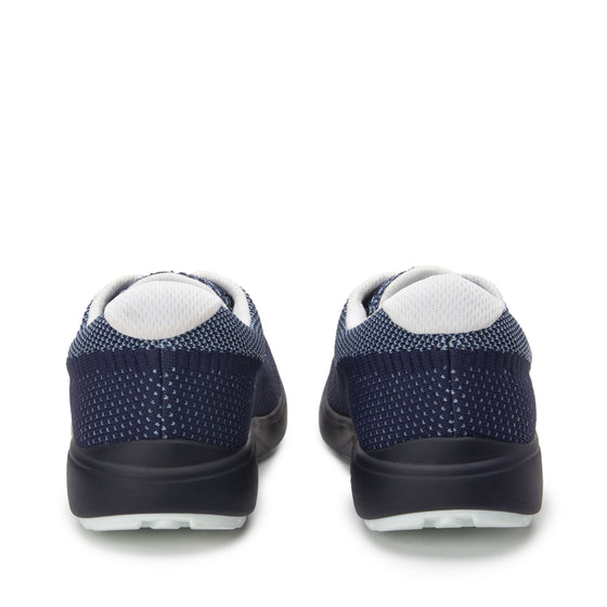 Goalz Navy lace-up smart shoes with Q-chip™ technology. GOA-5411-S4