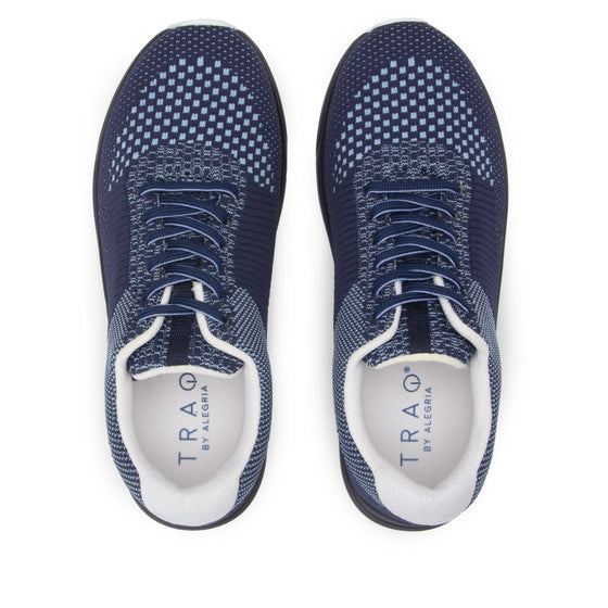 Goalz Navy lace-up smart shoes with Q-chip™ technology. GOA-5411-S5