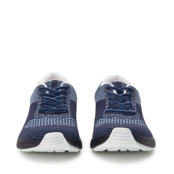 Goalz Navy lace-up smart shoes with Q-chip™ technology. GOA-5411-S7
