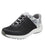 Jaunt Rhodie Grey smart shoes with Q-chip™ technology. JAU-5005-S1