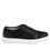 Lyriq Wooly Bully Black lace-up smart shoes with Q-chip™ technology. LYR-5001_S2