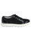 Lyriq Black Velvet lace-up smart shoes with Q-chip™ technology. LYR-5008_S2