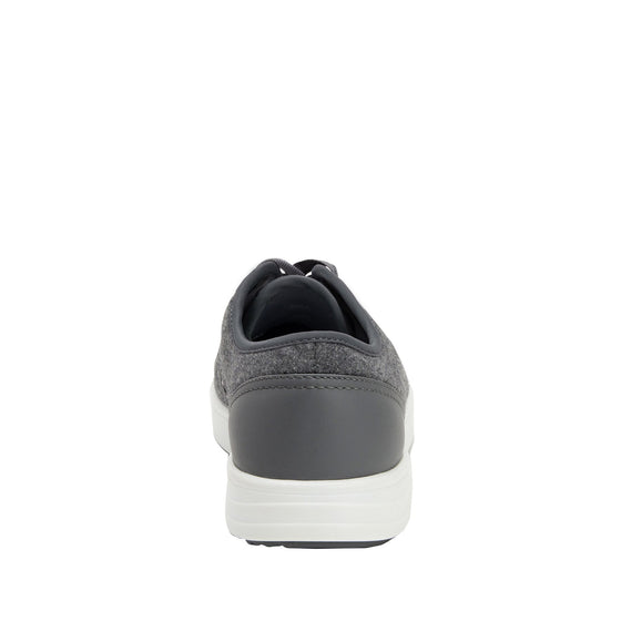 Lyriq Wooly Bully Grey lace-up smart shoes with Q-chip™ technology. LYR-5099_S3