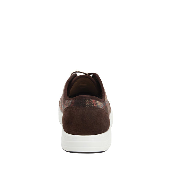 Lyriq Flannely Brown lace-up smart shoes with Q-chip™ technology. LYR-5210_S3