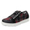 Lyriq Flannely Black lace-up smart shoes with Q-chip™ technology. LYR-5930_S1