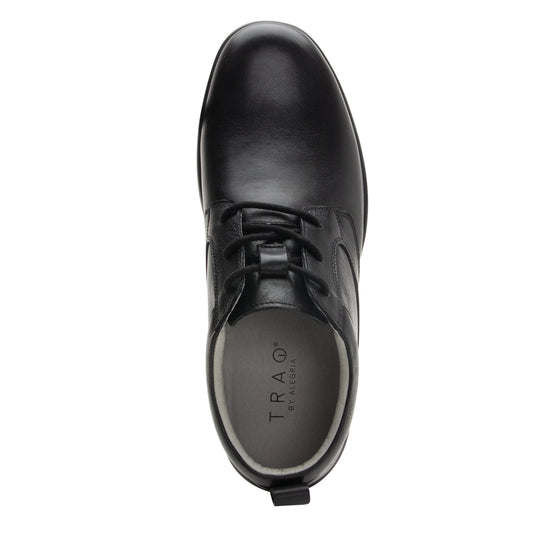 Outbaq Crazyhorse Black smart shoes with Q-chip™ technology. OUT-M7001_S4