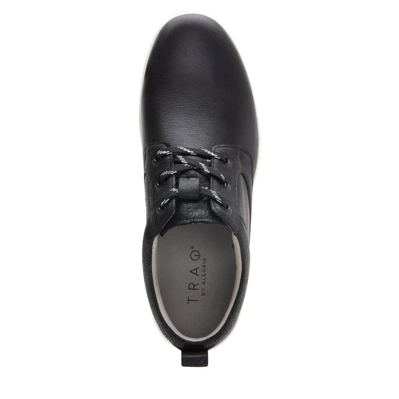 Outbaq Aged Black smart shoes with Q-chip™ technology. OUT-M7002_S4