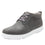 Outbaq Aged Grey smart shoes with Q-chip™ technology. OUT-M7050_S1