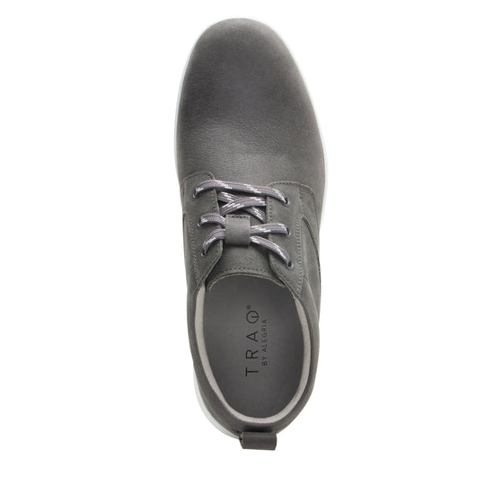 Outbaq Aged Grey smart shoes with Q-chip™ technology. OUT-M7050_S4
