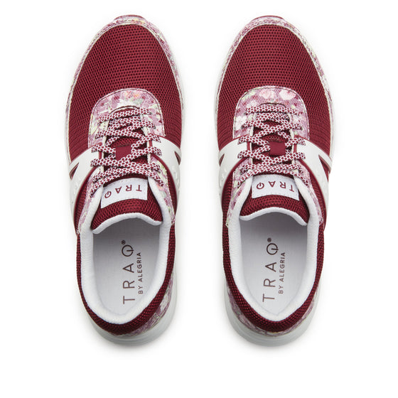 Qarma 2 Wine Scale smart shoes with Q-chip™ technology. QA2-5649-S5