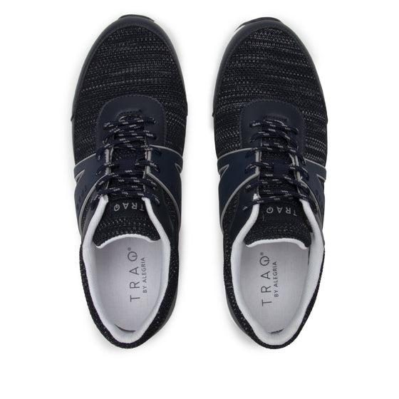 Qarma 2  Black Textualize smart shoes with Q-chip™ technology. QA2-M7003_S5